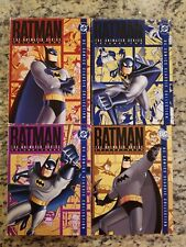 Batman: The Animated Series - Vols. 1-4    (DVD w/Slipcovers)  FREE S/H