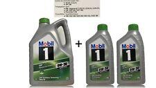 Mobil 1 ESP 0W-30  MB 229.52 229.51 229.31 VW 50400 , 50700 1x5 +1x2 Liter