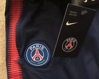 Youth Nike PSG Paris Saint-Germain Squad Training Pants Bottoms Football Ltd Edt