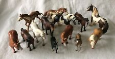 Mixed Lot of 13 Schleich Horses and Foals Germany Some Retired