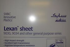 "LEXAN SHEET CLEAR 1/4"" x 6"" x 6"""