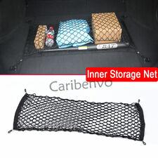 Double Mesh Car Rear Trunk Cargo Goods Elastic String Hook Storage Pocket Nets