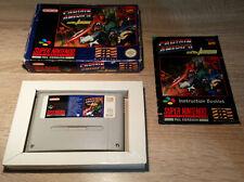 Super Nintendo SNES / Captain America and the Avengers +OVP +Anleitung /PAL CIB