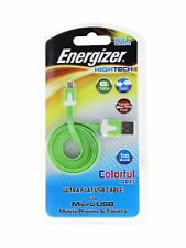 Energizer High Tech Ultra Flat USB Cable Micro USB 1m Data Charge Phone Tablet
