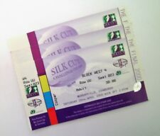 RUGBY LEAGUE MEMORABILIA - Unused 2000 Challenge Cup Final Tickets Murrayfield