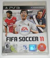 Sony PlayStation 3 Video Game - FIFA Soccer 11 (New, plastic wrap torn)