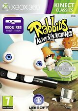 Xbox 360 GAME RABBIDS - ALIVE AND KICKING - KINECT REQUIRED NEW