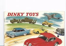 catalogue Dinky Toys France 1959  édition Belgium Luxembourg RARE