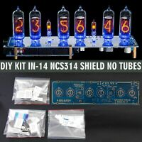 Nixie Tube Clock IN-14 Arduino Shield DIY KIT NCS314 [PCB+All Parts] [NO TUBES]