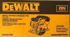 Dewalt DCS373B 20 volt 5 1/2 Metal Cutting Circular Saw  NEW in box w blade