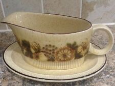 POOLE THISTLEWOOD GRAVY BOAT AND DISH