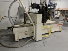 Used 2001 Thermwood Model C 40 Cnc Vertical 3 Axis Router Mill 15k Rpm 5x5 Atc