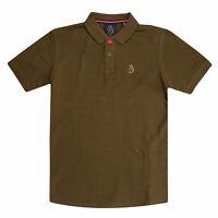 Boy/'s Luke 1977 Junior Trouser Snake Crew Neck Cotton T-Shirt in Black