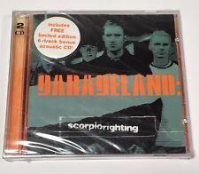Garageland Scorpio Righting Limited Edition w/ Bonus Disc New and Factory Sealed