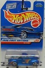 FORD PICKUP STREET OUTLAWS DRAG 1940 654 PRO MOD 1998 1ST EDITION 20 HOT WHEELS