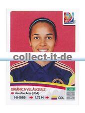 Panini Frauen WM World Cup 2015  - Sticker 458 - Orianica Velasquez