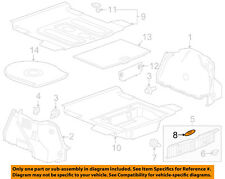 Chevrolet GM OEM 11-15 Cruze Interior-Rear-Rear Sill Plate Cover 42340991