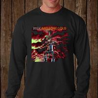 New BECK *Mellow Gold Rock Music Men's Long Sleeve Black T-Shirt Size S-3XL
