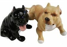 More details for pit bull terrier gift, cruet set handmade by blue witch