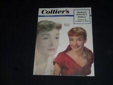 1952 SEPTEMBER 20 COLLIER'S MAGAZINE - NINA FOCH GOES TO DRAMA SCHOOL - SP 8404