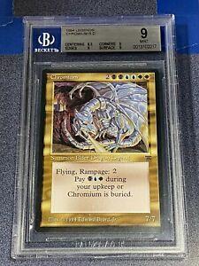MTG Magic the Gathering Legends CHROMIUM Elder Dragon BGS 9  ~EBBFC-17