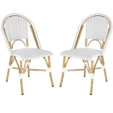 Charisse Stacking Dining Chair (Set Of 2) Garden Ready assembled Water Resistant