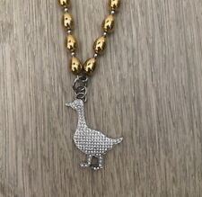 Moschino Cheap amd Chic Goose Necklace
