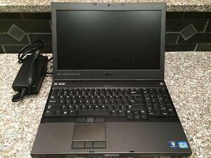 Dell M4700 - Intel i7-3840QM, 16GB RAM, 256GB SSD, FHD Graphics, Win 10+Warranty