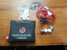 Beats by Dr. Dre Monster Urbeats In-Ear Headphones for HTC White Red Chrome