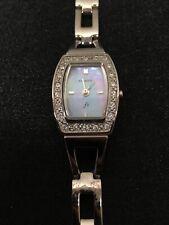 Women's Fossil F2 Watch, Rhinestone Silver Tone Bracelet Band, ES 9723 Repair