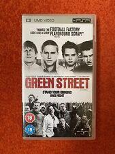 PSP UMD Video Green Street Movie