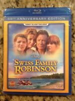 Swiss Family Robinson (Blu Ray,1960,Disney Exclusive/55th Anniv)New Authentic US