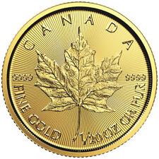2016 1/20oz Canadian Gold Maple Leaf Coin .9999 Fine BU