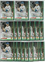 2019 Topps Holiday Walmart Jacob deGrom (20) Card Bulk Lot #HW137 New York Mets