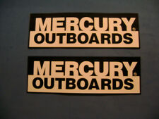 Mercury Outboards Racing marine engine decals sickers pair