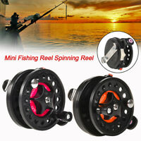 Ice Fishing Reel Fly Reels Mini Portable Smooth Winter Raft Fishing Tackle Reel