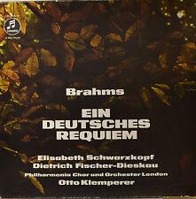 """OTTO KLEMPERER - EIN DEUTSCHES REQUIM - BRAHMS  12"""" 2 LP BOX  (O696)"""
