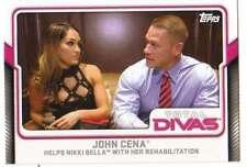 2017 Topps WWE Wrestling Total Divas #13 John Cena