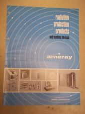 Vtg Ameray Corporation Brochure~Radiation Protection Products/Devices~Catalog