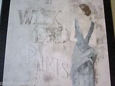 Paris Blue Lady Wall Decor Plaques Elegant Ladies French bed bath picture