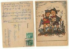 Zona il, immagine cartolina 1950 #k680