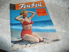 RIVISTA FRUFRU' N.6 1955 GINA LOLLOBRIGIDA GABY PALAZZOLI ROSALINA NERI D. DORS