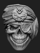 Petrobond Cast Silver Bar Mold Pattern Pirate Skull Large Graphite Alternative