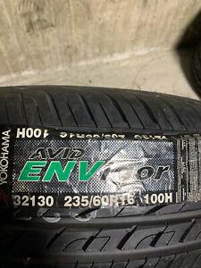 1 New 235 60 16 Yokohama Avid Envigor Tire