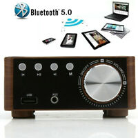 Wireless Bluetooth Audio Amplifier Receiver Stereo Power Amp Remote Music Player