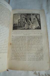 1812 Sacy Histoire de l'ancien et du nouveau testament 267 gravures Reliure Cuir
