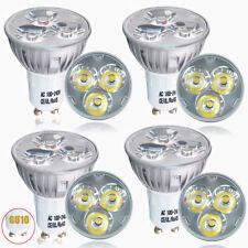 4x GU10 4W LED Spotlight Bulbs Daylight Spot Light Bulb Cool White Downlight