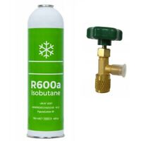 K?ltemittel R600a  750ml/420g Isobutan + Entnahmeventil / Stechventil