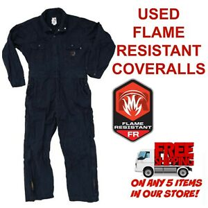Flame Resistant FR Used Coveralls Cintas Redkap Unifirst G&K