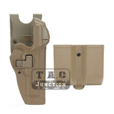 Level 3 Right Pistol Holster +Jacket Slot & Mag Pouch for Beretta 92 96 M9 M92